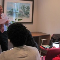 PFP Hosted Bilingual Lecture on Literature with Brazilian Professor