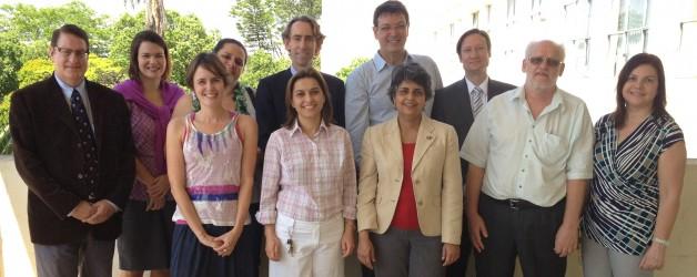 PFP/UGA Delegation in Brazil